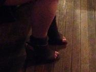 de rigeur ushering footwear!