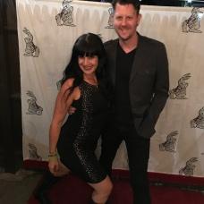 Rachel Kann and Brad Cooper