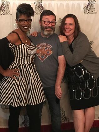 Rushelle Frazier, Gary Hoare, Jenith Charpentier