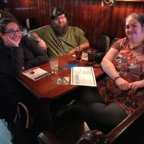 Ashley, April, & Ted at the matinee