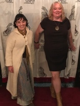 Molly & Kerry on the red carpet