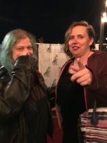 Jenith & Karen after the show