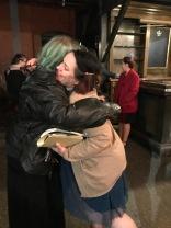 Karen & Heather after the show