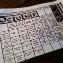 Nick's events calendar