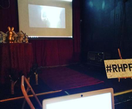 Pre-show, matinee setup