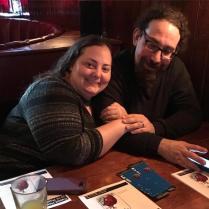 Sylvia and Isaac at the matinee