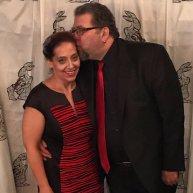 Tony & Missy pre-awards ceremony